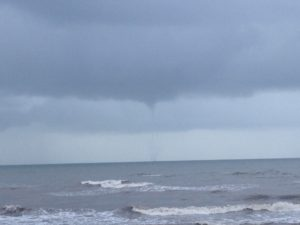 Galveston waterspout