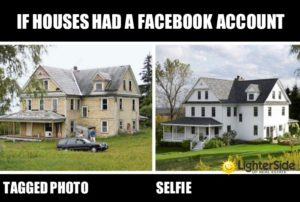 If Houses Had a Facebook Account