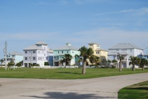 Beachside Village neighborhood scene