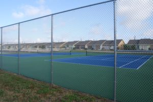 Campeche Cove tennis courts