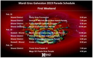 Mardi Gras First Weekend