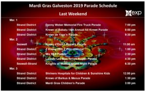 Mardi Gras Last Weekend