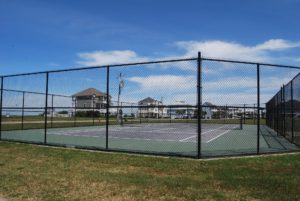 Sunset Cove neighborhood tennis courts