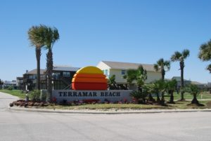 Terramar Beach entrance