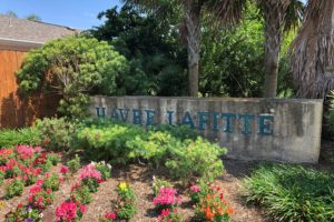 Havre Lafitte entrance