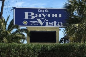 Bayou Vista entrance