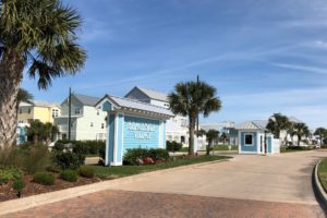 Beachside Village entrance