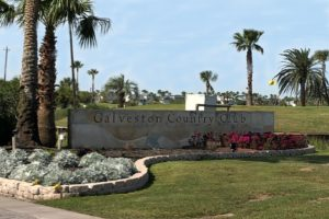 Galveston Country Club entrance