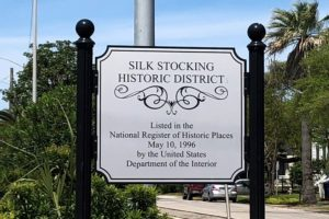 Silk Stocking entrance