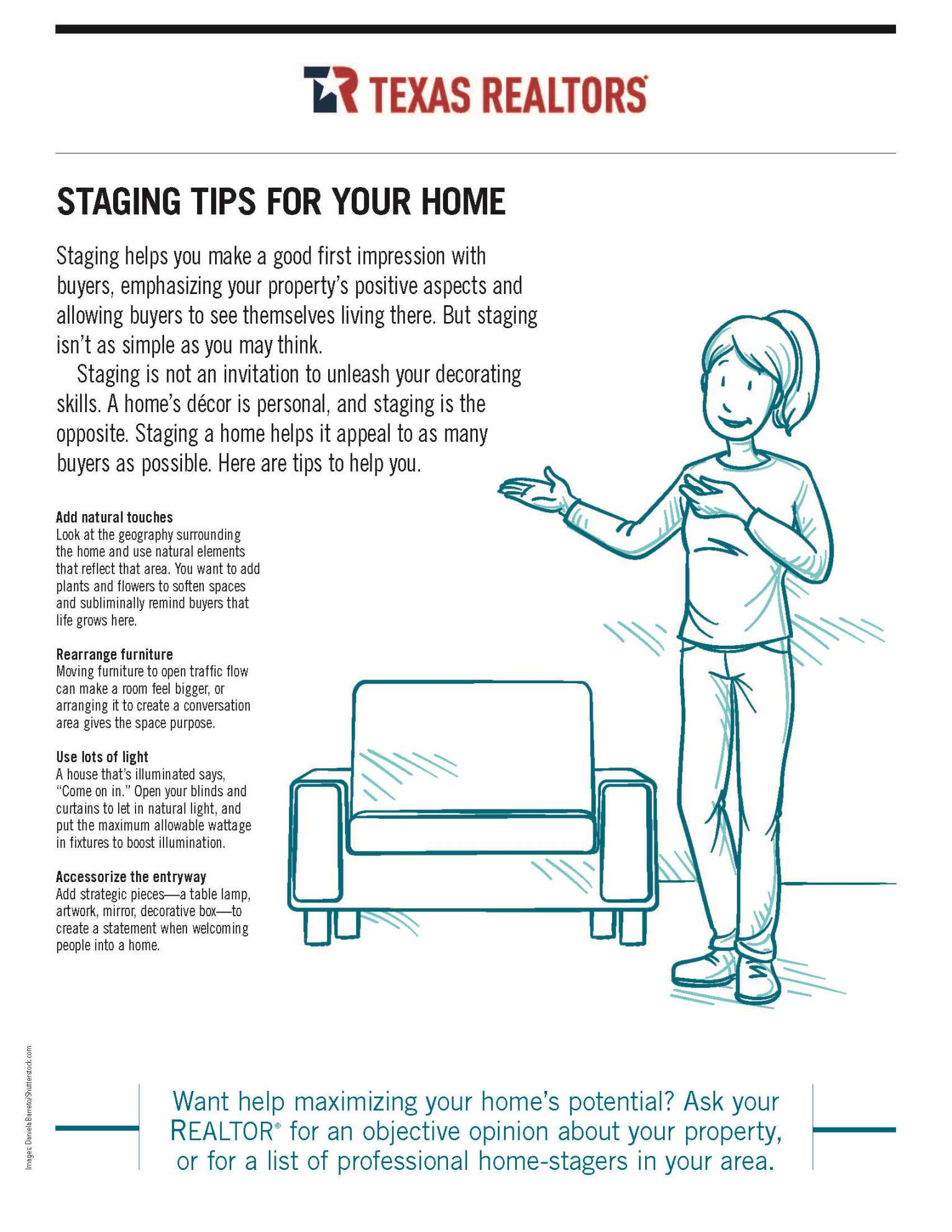 Staging Tips For Your Home