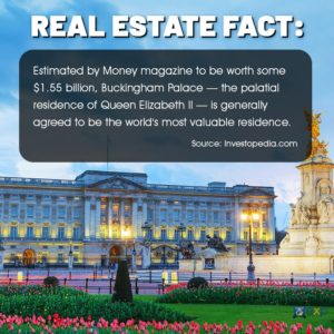 fun facts buckingham palace