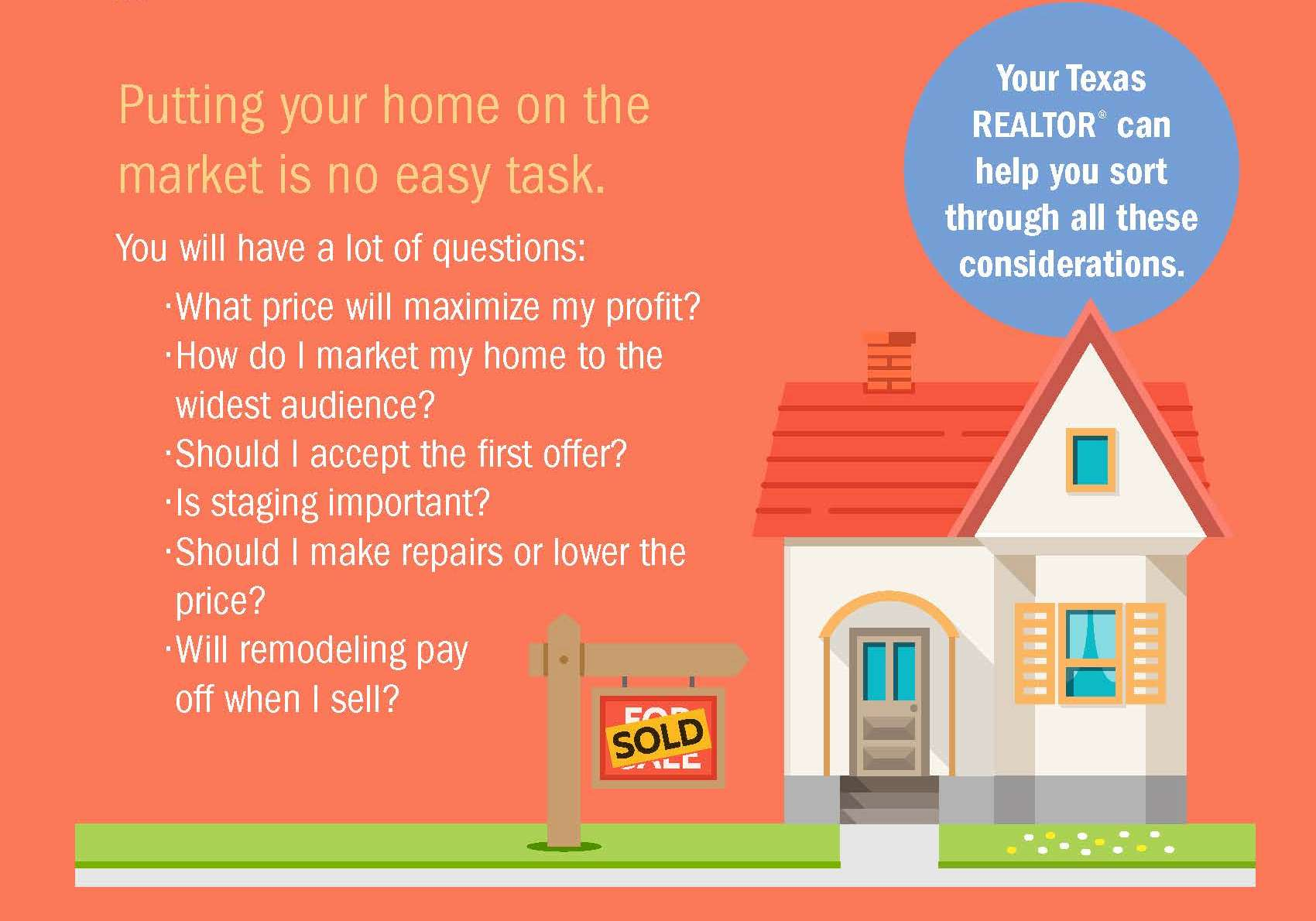 Tips For Sellers From Texas Realtors