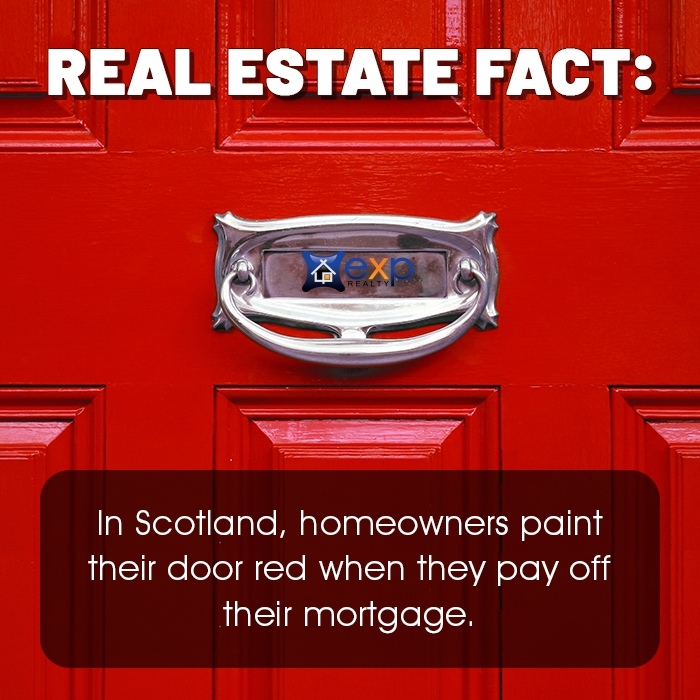 Friday Fun Fact red door
