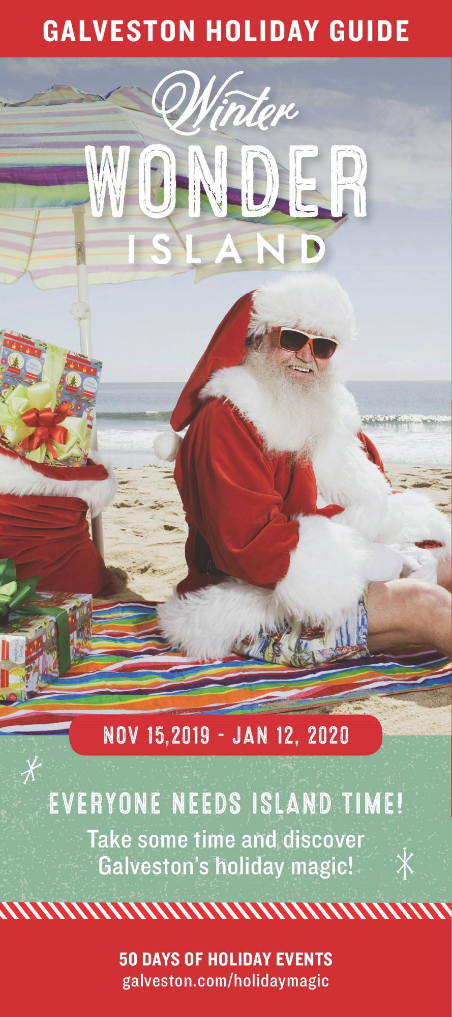 2019 Winter Wonder Island brochure front