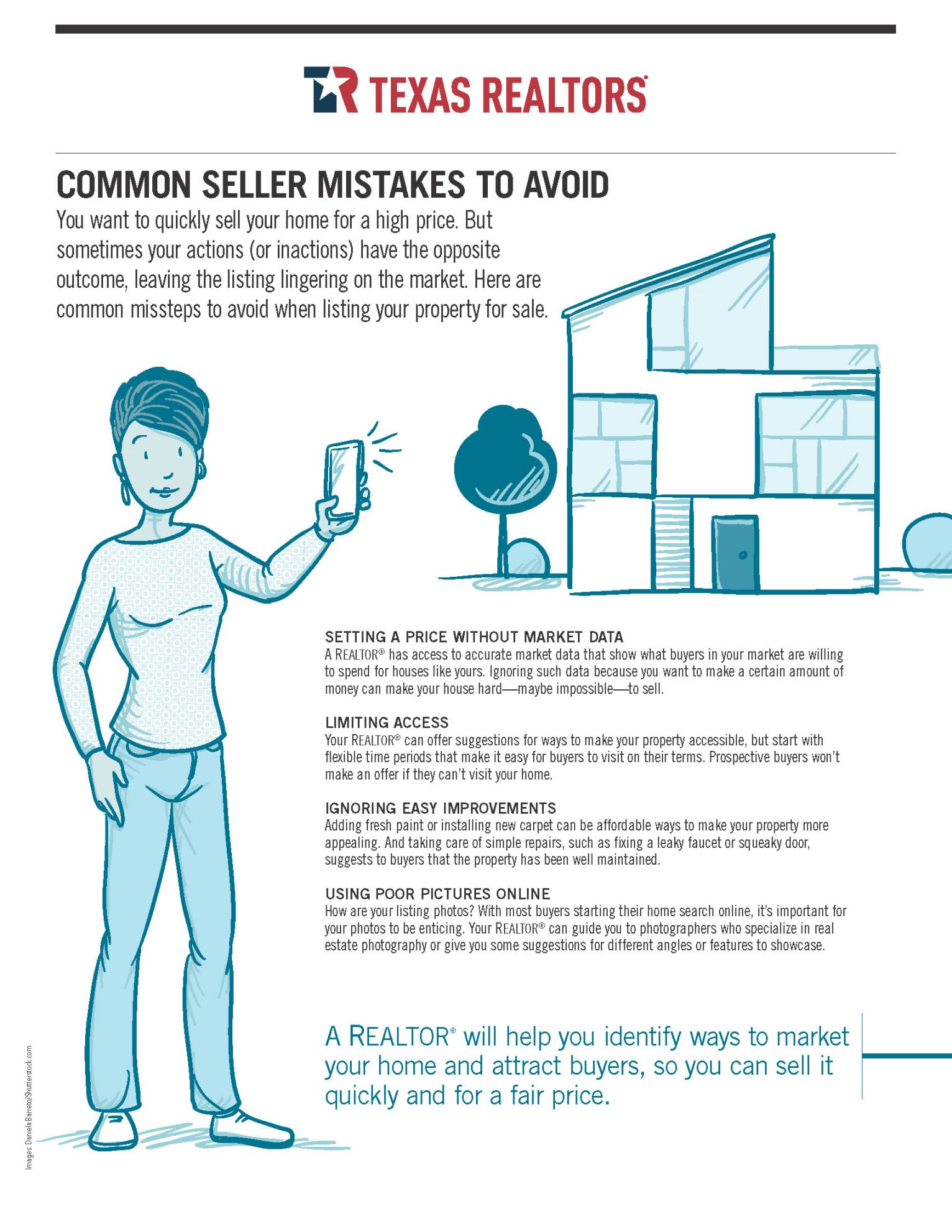 Common Seller Mistakes