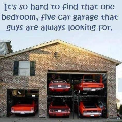 Five Car Garage Fun meme