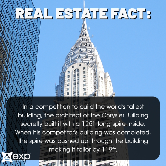 Friday Fun Fact Chrysler Building