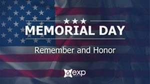 Memorial Day 2020 graphic