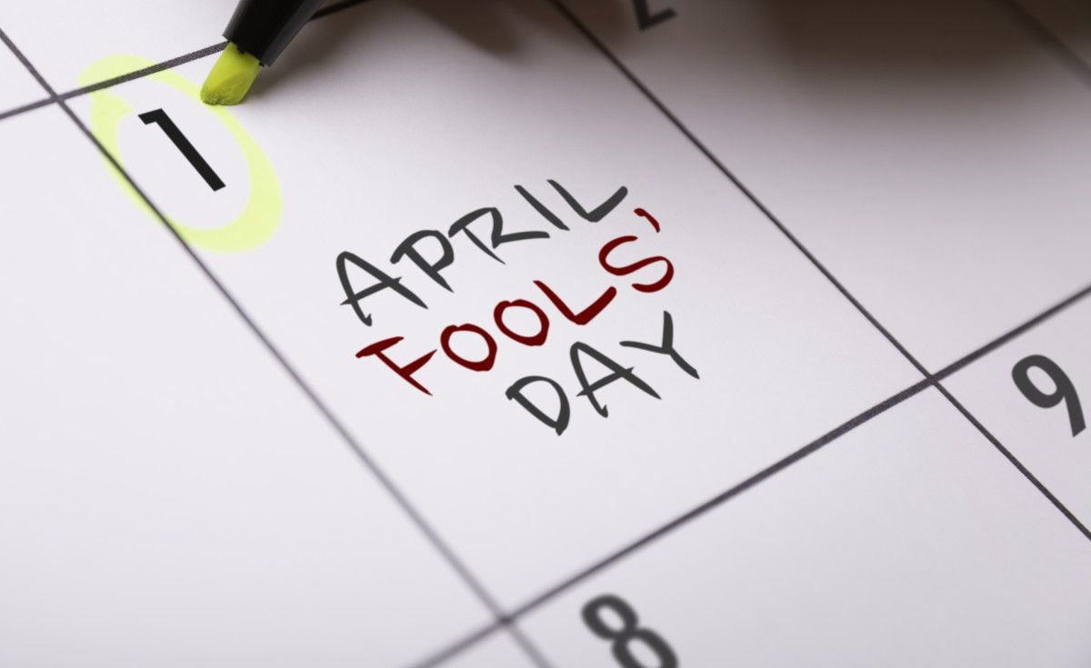 April Fool Day graphic