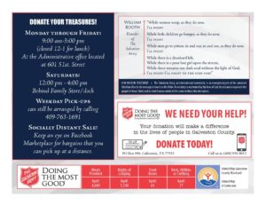 Salvation Army Donations Needed